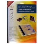 Pressit CD Jewel Case Inserts and Tray Cards 25 Pack