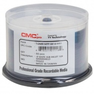 graphic relating to Printable Dvd Rs known as CMC Specialist / Taiyo Yuden Watershield DVD-R 16x White Inkjet Printable - 50 Bath