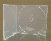 Flexi Slimline 5.2mm CD Jewel Cases -Shatterproof
