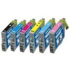 CVB Compatible Epson TO791-796 Multi-Pack Ink Cartridges