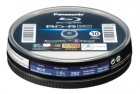 Panasonic BD-R 25GB Blu-Ray White Full Face Printable (10 Spindle)