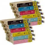 CVB Media Compatible Epson TO481-486 - 2 x Multi-Packs of 6 Inks B,C,M,Y, LM,LC Cartridges