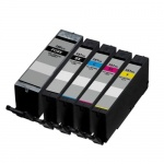 Compatible 4 Colour XXL High Capacity Canon PGI-580P Black & CLI-581XXL Ink Cartridge Multipack