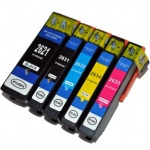 CVB Media Compatible EPSON T2636 Polar Bear 26XL High Capacity 5 Colour Multipack Ink Cartridges