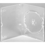 Amaray Clear 14mm Single DVD Case - 50 Pack