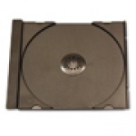 BLACK SINGLE CD TRAY INSERTS - 120 PACK