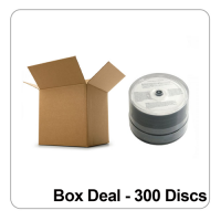 CMC Pro / Taiyo Yuden Watershield CD-R 48x White Inkjet  - Box Deal 300 Discs
