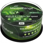 MediaRange MR445 DVD+R 16x Branded 50 Pack Spindle