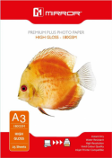 Mirror A3 180gsm Premium Gloss Inkjet Photo Paper 25 Sheets