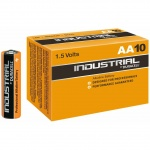 10x Duracell Industrial LR6 AA Batteries 1.5v