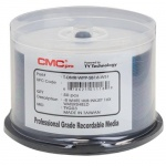 CMC Pro / Taiyo Yuden Watershield DVD-R 16x White Inkjet Printable - 50 Tub