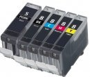 CVB Media Compatible Canon Multi Pack PGI-5 + 4 Colours Cartridges