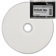 Ritek Traxdata DVD+R 16x White Full Face Inkjet Printable 50 Stack